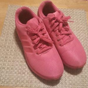 Hot pink Adidas